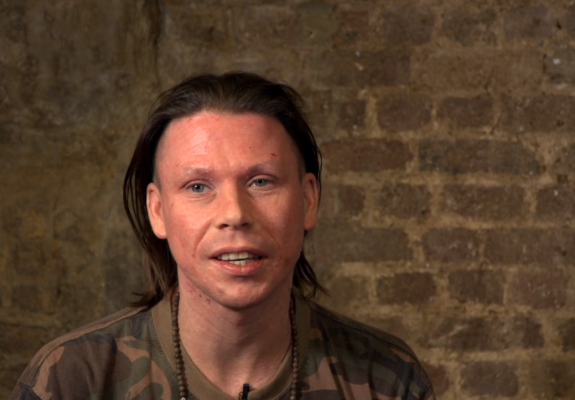 Image of Lauri Love at Ethical Hacking Roundtable