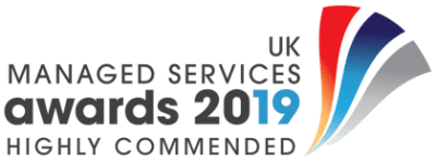 Managed Services & Hosting Awards 2019 - Highly Commended