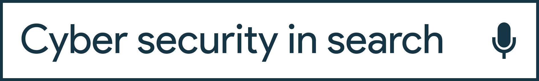 Security in search header