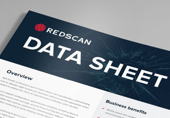 Redscan data sheet